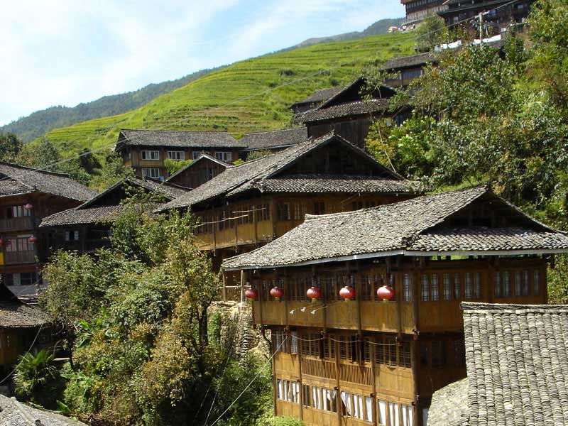Randonn e dans le guangxi circuit confort guilin chine voyages espace - Village de chine le mans ...