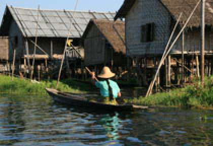 Village du Lac Inle - Myanmar ©lagorce