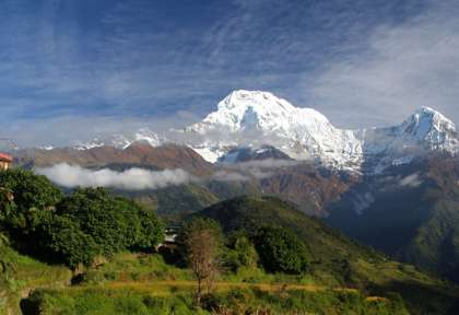 Trek dans le massif de l'Annapurna - Pokhara - Népal © Tiger Mountain Lodge