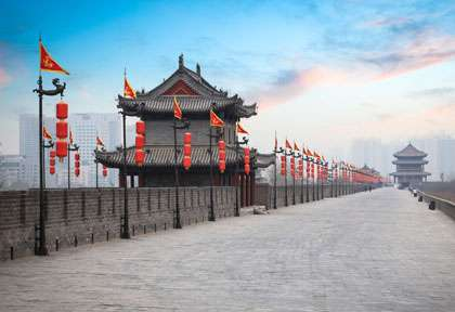 fortification de Xian - chine © Chungking - Shutterstock