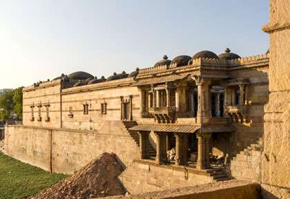 Mosquee d'Ahmedabad - Gujarat - Inde © Sira Anamwong - Shutterstock