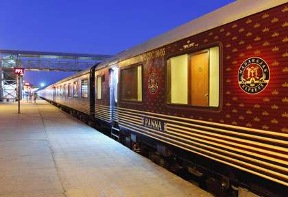 voyage en train en inde - Maharjah Express