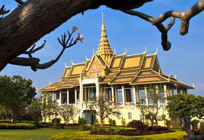 Palais Royal Phnom Penh Cambodge