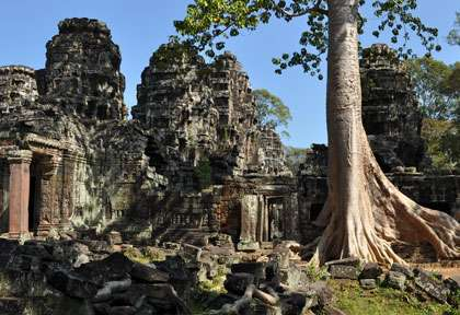 Temple de Preah Khan - Siem Reap - Temple d'Angkor - Cambodge © Aaron Booth Uk - Shutterstock