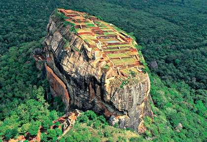 Rocher du Lion de Sigiriya - Triangle Culturel - Sri Lanka