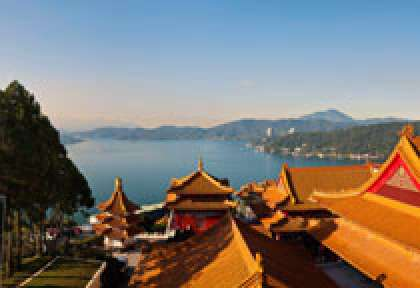 Le Sun Moon Lake taiwan tourism